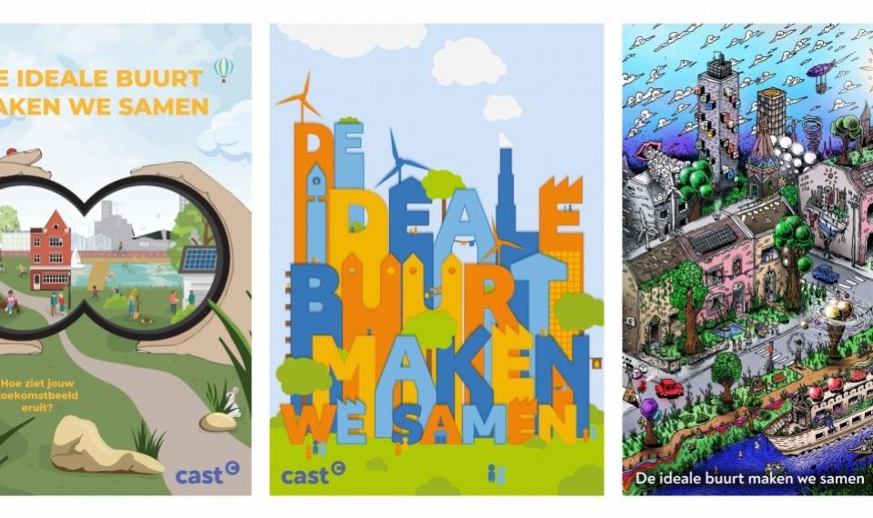 Winnaars Posterwedstrijd De Ideale Buurt Maken We Samen